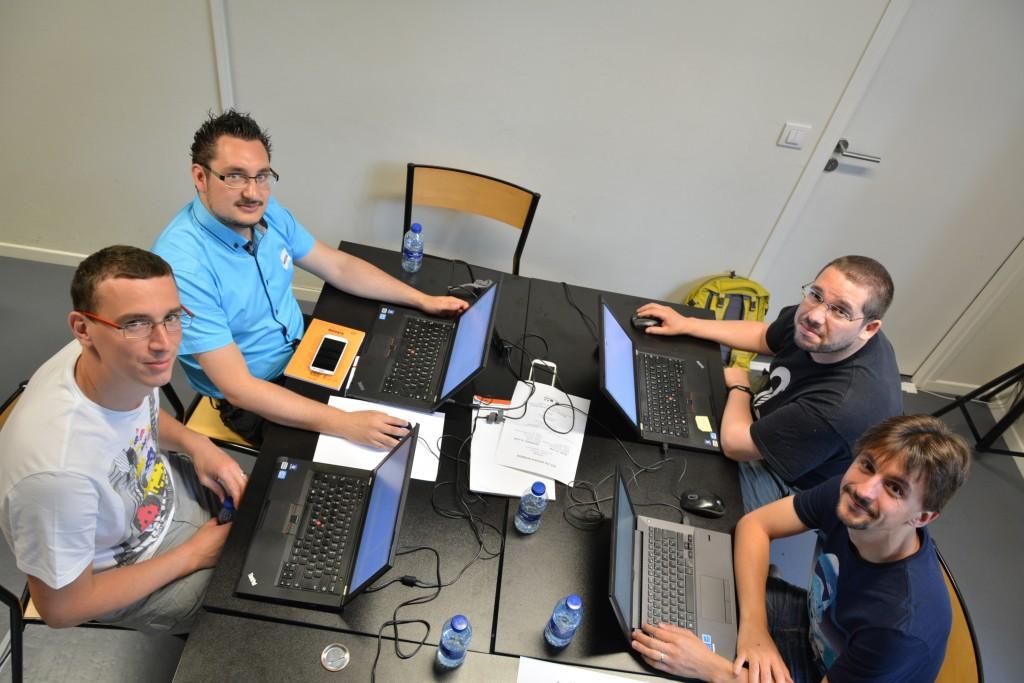 Equipe 6Tzen au hackathon